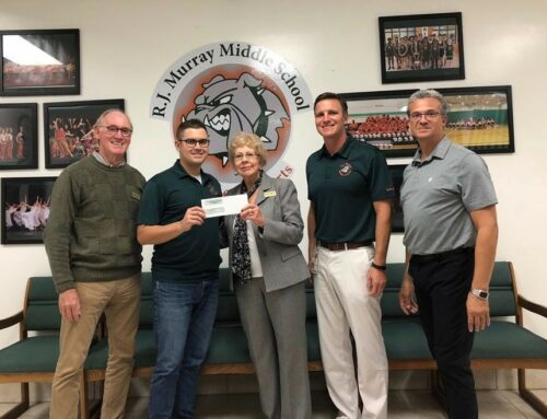 EMMA gives to Murray Middle School